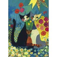 Puzzel Flowerbed,Wacht.1000 Heye 29616 * verwacht week 10 *