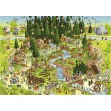 Puzzel Black Forest Habitat 1000 Heye 29638