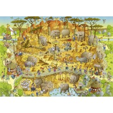 Puzzel African Habitat 1000 st.Heye 29639