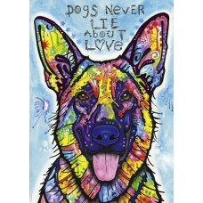 Puzzel Dogs Never Lie 1000 st. Heye 29732 * verwacht week 18/19, herdruk *