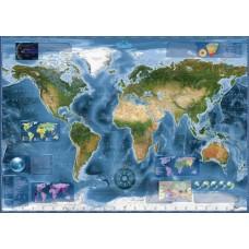 Puzzle Satellite Map 2000 pc. Heye 29797