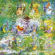Puzzle Wildlife,Mord.1000 Squ.Heye 29799