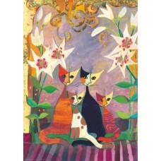 Puzzel Lilies,Wachtm.1000 Heye 29819