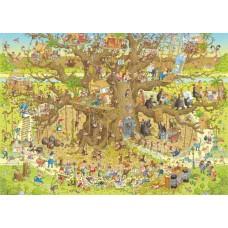 Puzzel Monkey Habitat 1000 Heye 29833  * levertijd onbekend *