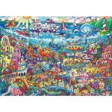 Puzzel Magic Sea 1000 3 hkg.Heye29839