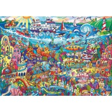 Puzzle Magic Sea 1000 Trian.Heye 29839