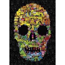 Puzzel Doodle Skull 1000 Heye 29850 * verwacht week 15 *