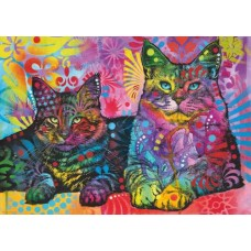 Puzzel Devoted 2 Cats 1000 Heye 29864