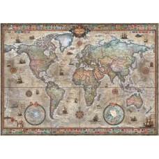 Puzzel Retro World 1000 st.Heye 29871