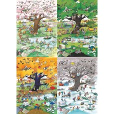 Puzzle 4 Seasons 2000 pcs. Heye 29873