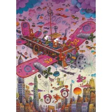 Puzzle Fly with me!1000 Tri.Heye 29887