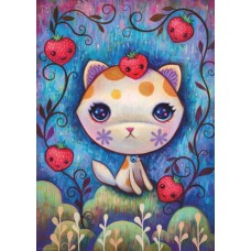 Puzzel Strawberry Kitty 1000 Heye 29895 NEW
