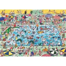 Puzzle Cool Down,Comic 1000 Heye 29904