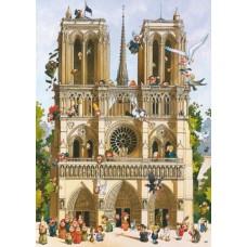 Puzzle Vive Notre Dame!1000 Heye 29905