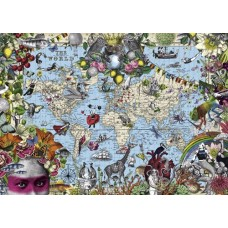Puzzle Quirky World 2000 Heye 29913