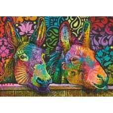 Puzzle Donkey Love 1000 Heye 29937 NEW