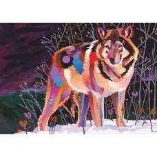 Puzzle Night Wolf 1000 Heye 29939 NEW