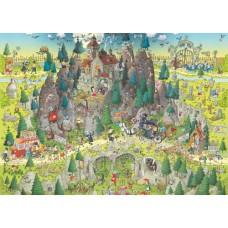 Puzzle Transylv. Habitat 1000 Heye 29963 NEW