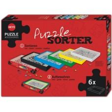 Puzzle Sortingbox, set of 6 boxes Heye 80590