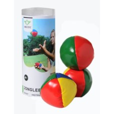Juggling balls set of 3 balls large, in tube
