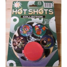 Caps HOT Shot Collection op kaart