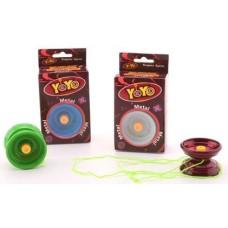 Yo-Yo Metal freewheel 4 colors ass.